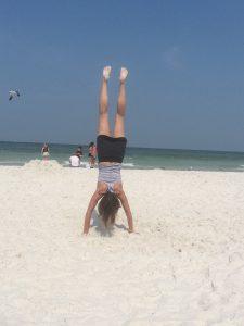 handstand-on-beach